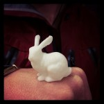 3d printed rabbit finished